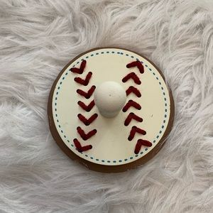 Other - ADORABLE baseball hook for wall